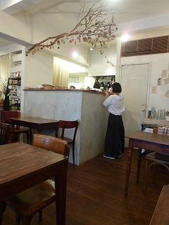 tea time  二子玉川その2 柳小路のカフェで♪_a0165160_6205588.jpg