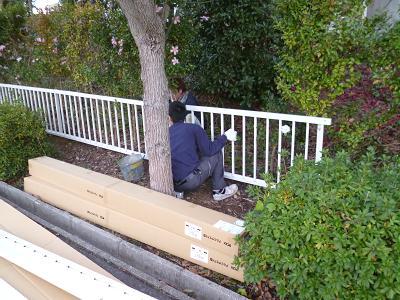 フェンス設置工事②_c0092689_1452198.jpg