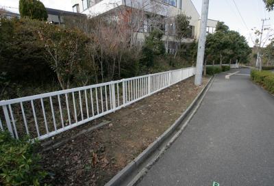 フェンス設置工事②_c0092689_14543916.jpg