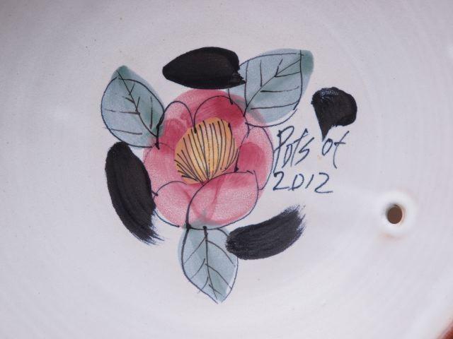 紅椿一輪、咲きました。折り返し…(堂前守人展から-9)_a0254818_15553718.jpg
