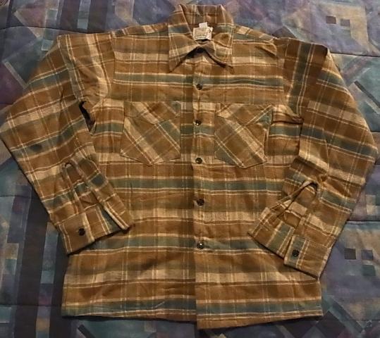 アメリカ仕入れ情報#42 40\'S~E&W ヘビーネルシャツ!_c0144020_12325480.jpg