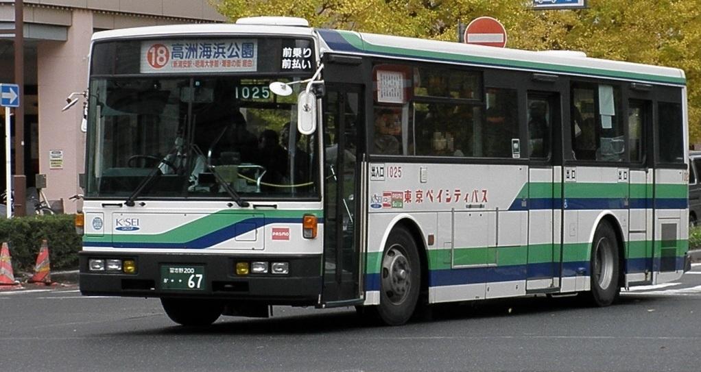 東京ベイシティ交通 1025 : 帝都...