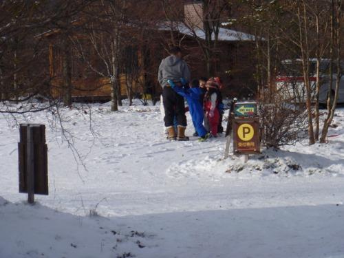 雪を楽しむ_b0174425_21535482.jpg