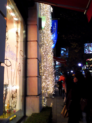 今年の表参道のクリスマスイルミネーション_a0275527_22512551.jpg
