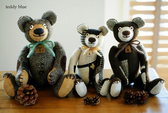 family brown teddies  ファミリーブラウンテディ_e0253364_951866.jpg