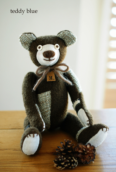 family brown teddies  ファミリーブラウンテディ_e0253364_952538.jpg