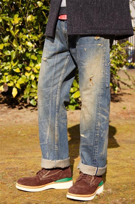 "\""ANACHRONORM\"" Damaged Flat Fell Seam 6p Pants!!_f0020773_20572526.jpg"