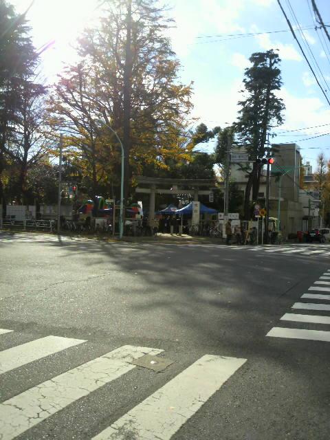『千駄ヶ谷鳩森神社餅つき大会』_a0075684_146737.jpg