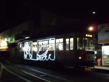 ○土佐電鉄 2012イルミネーション電車_f0111289_11391049.jpg