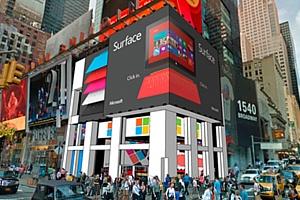 Microsft初のニューヨークのお店、Apple Storeのパクリと叩かれる_b0007805_1341271.jpg
