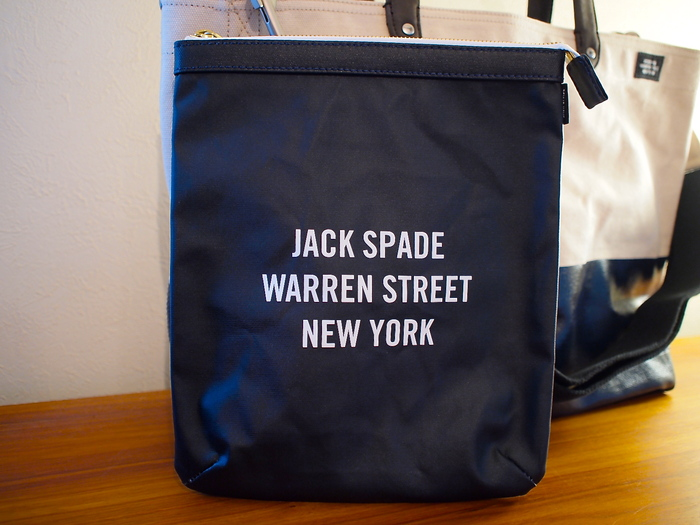 JACK SPADE COATED CANVAS SMALL POUCH_f0010106_21294685.jpg
