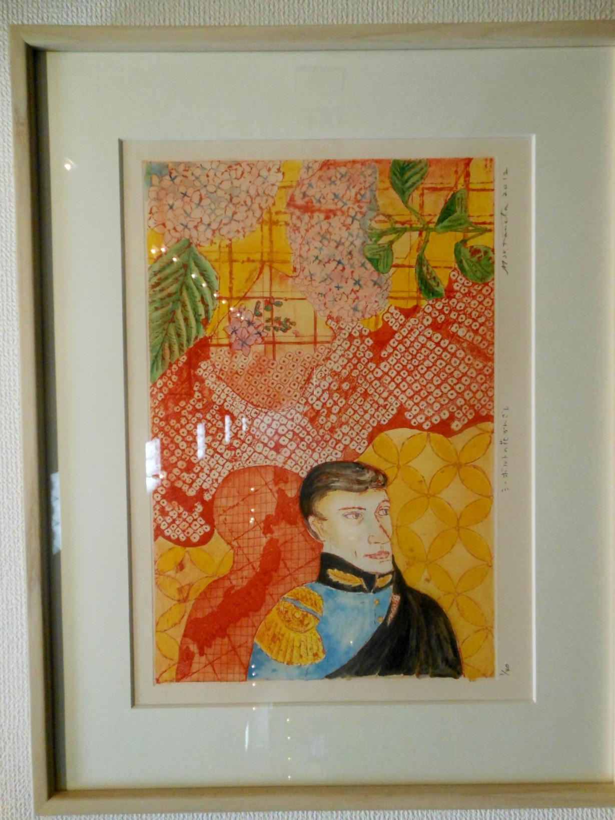 1910)②「彼方アツコ・関川敦子 二人のATSUKOの版画展 『In Harmony』」 道新g. 12月6日(木)~12月11日(火)_f0126829_10155587.jpg