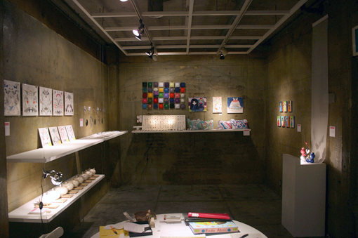 Creative snow in Gallery Part1 はじまりました_c0096440_12421614.jpg
