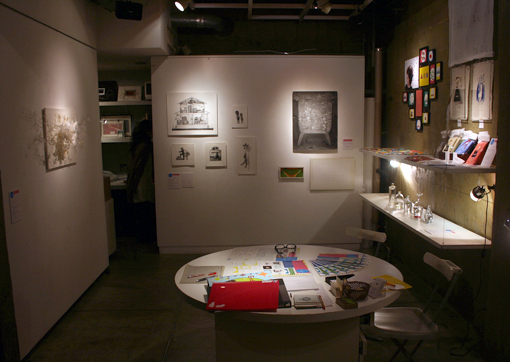 Creative snow in Gallery Part1 はじまりました_c0096440_12424118.jpg