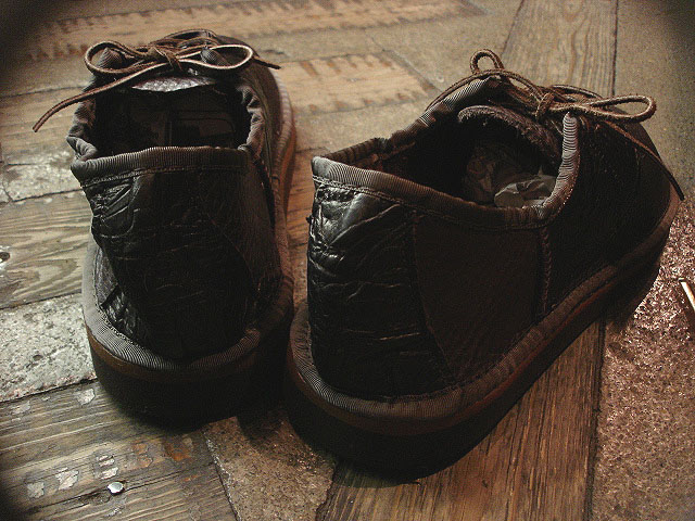 "NEW : THE SANDALMAN ""BULLHIDE SADDLE SHOES\"" !!_a0132147_2313427.jpg"