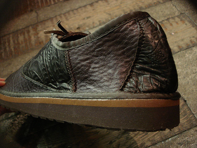 "NEW : THE SANDALMAN ""BULLHIDE SADDLE SHOES\"" !!_a0132147_23141938.jpg"