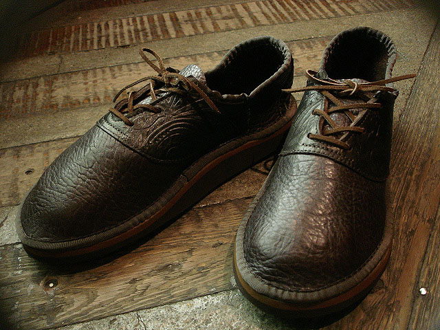 "NEW : THE SANDALMAN ""BULLHIDE SADDLE SHOES\"" !!_a0132147_23155486.jpg"
