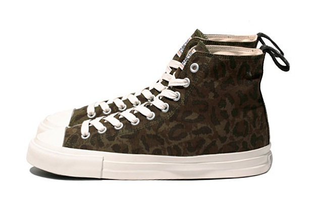 WTAPS LEOPARD SNEAKER / SHOES. COTTON. RIPSTOP_a0118453_21572368.jpg
