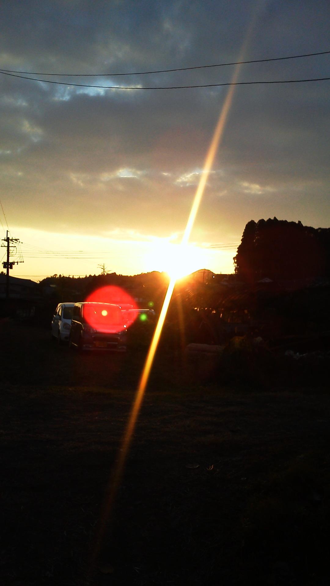 夕陽煌めいて・・☆_a0174458_0221253.jpg