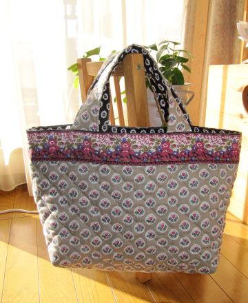 続・手提げバッグ作り : 手作り布小物 m/natuul
