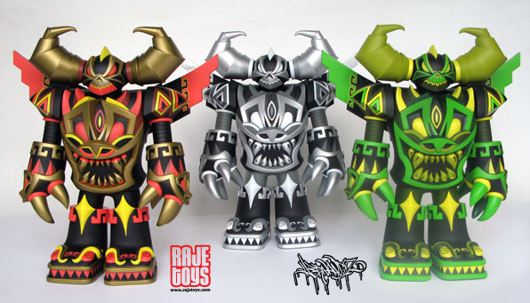 Mecha Asteca 3 colorway set by Jesse Hernandez_e0118156_874993.jpg