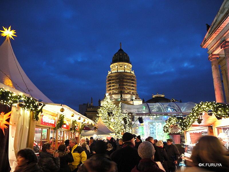 ベルリン その1 到着の夜 クリスマスマーケットへ♪_a0092659_23493596.jpg