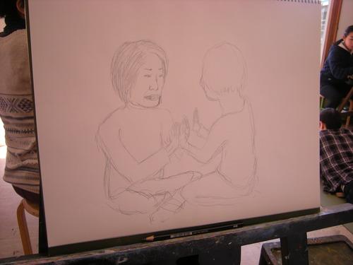 12月の「人物画デッサン」、大変盛り上がってます!!!_c0131063_0293986.jpg