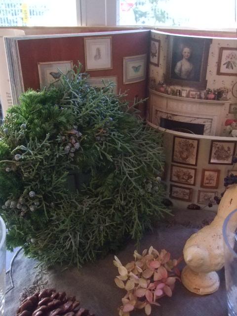 オークリーフ(クリスマスのオーダーリース)_f0049672_16365696.jpg