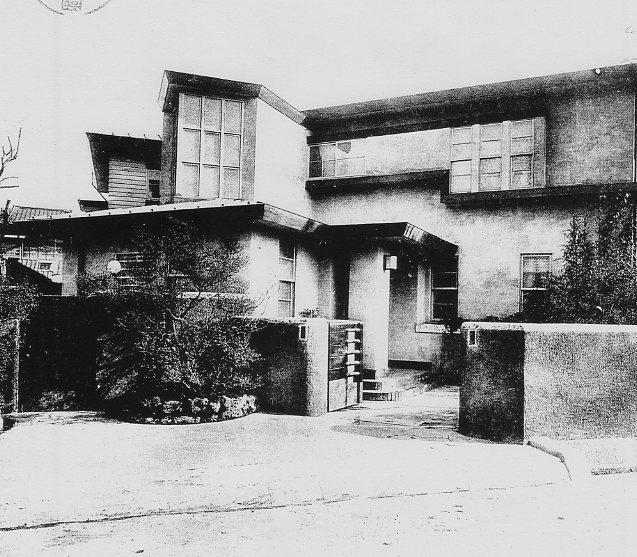 東京<b>麻布笄町</b>の坊城俊良邸(建築家・関根要太郎設計作品研究) : 関根要 <b>...</b>