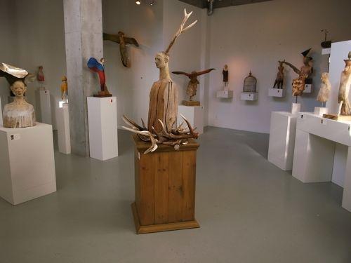 前川秀樹・像刻展「漂泊の森」_a0068339_16163819.jpg
