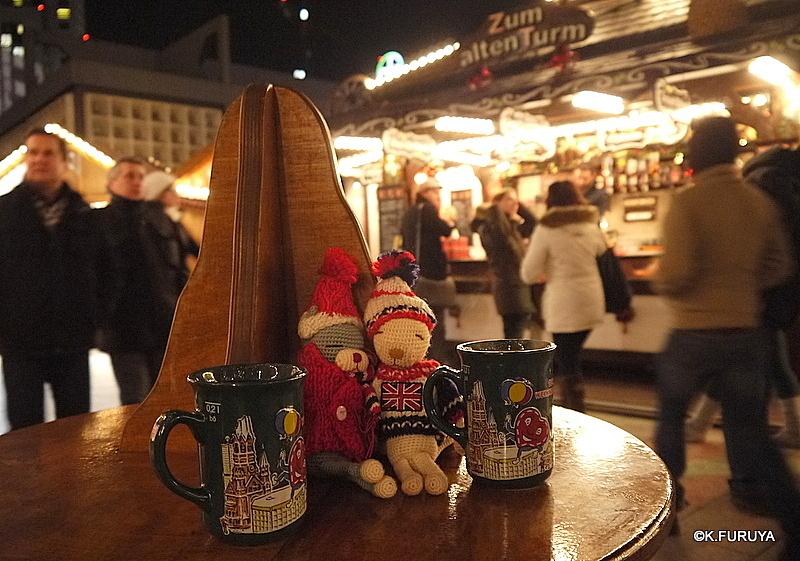 ベルリン その1 到着の夜 クリスマスマーケットへ♪_a0092659_0241481.jpg