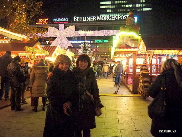 ベルリン その1 到着の夜 クリスマスマーケットへ♪_a0092659_165160.jpg