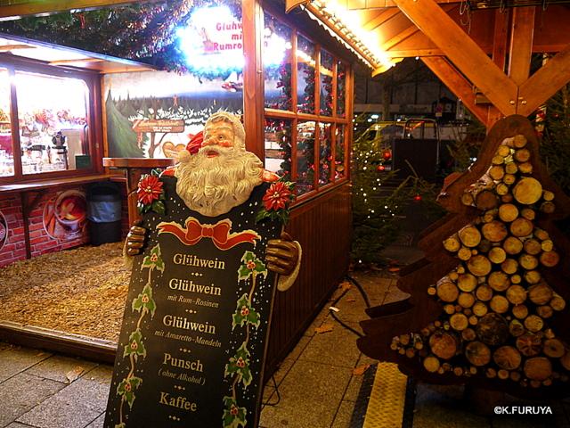ベルリン その1 到着の夜 クリスマスマーケットへ♪_a0092659_18325693.jpg