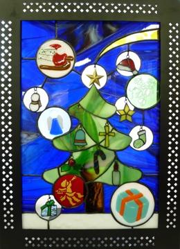 クリスマスのパネル_f0008680_1957331.jpg