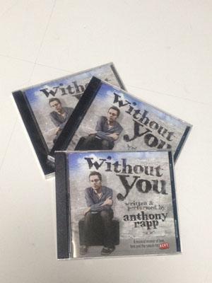 「without you」のCDが届きました。 @albinokid_d0154984_22463078.jpg
