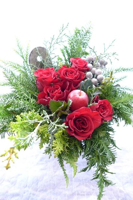カフェの一周年。クリスマス風。_b0171193_22182124.jpg