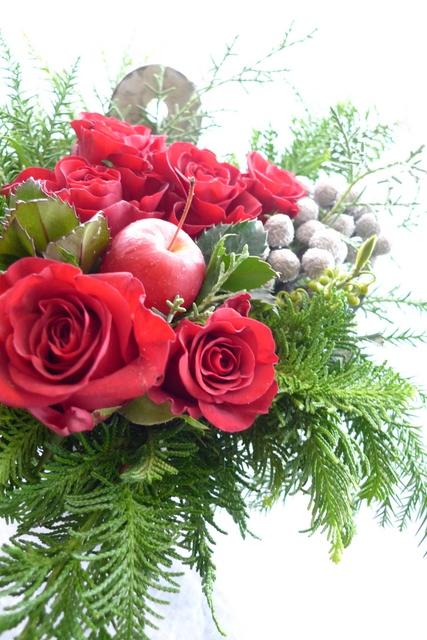 カフェの一周年。クリスマス風。_b0171193_22183026.jpg