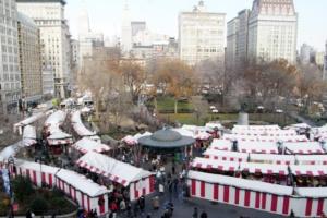 毎年恒例、NY ユニオン・スクエアのホリデー・マーケット_b0007805_5463871.jpg