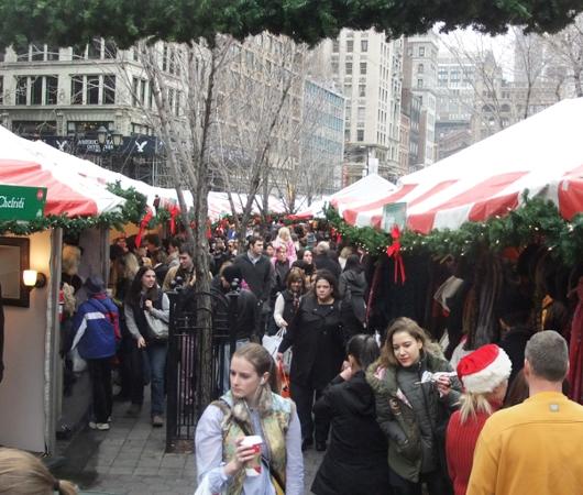 毎年恒例、NY ユニオン・スクエアのホリデー・マーケット_b0007805_5465083.jpg