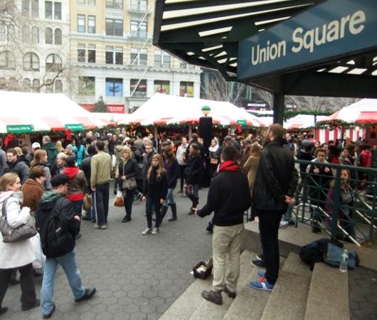 毎年恒例、NY ユニオン・スクエアのホリデー・マーケット_b0007805_5491432.jpg