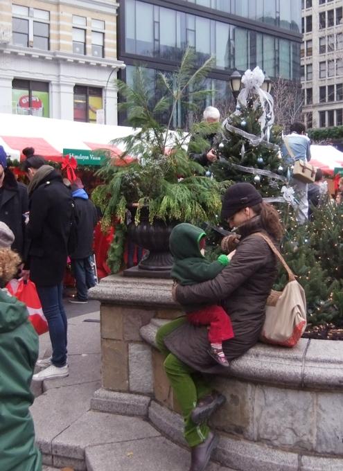 毎年恒例、NY ユニオン・スクエアのホリデー・マーケット_b0007805_5501780.jpg