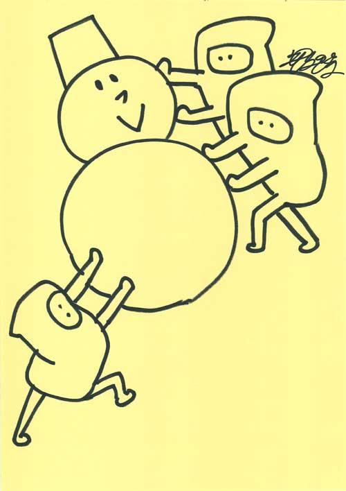 UST放送「お絵描き先輩」で描いた絵_02_d0151007_436177.jpg