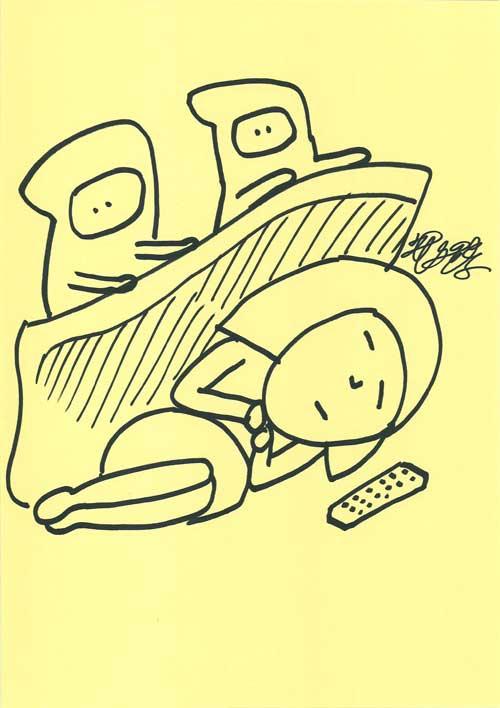UST放送「お絵描き先輩」で描いた絵_02_d0151007_436955.jpg