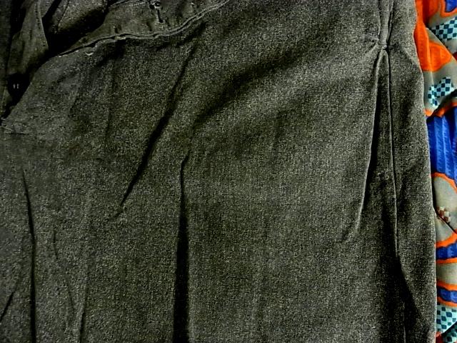 40'S~ブラックシャンブレーパンツ!_c0144020_11364725.jpg