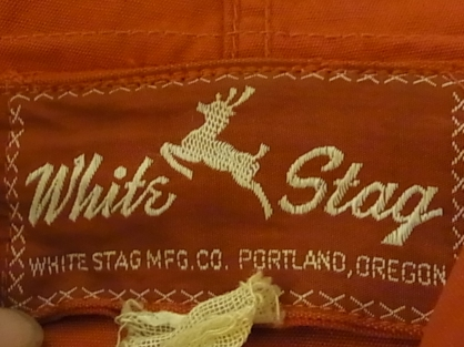 50'S WHITE STAG コットンパーカー_c0144020_1181848.jpg