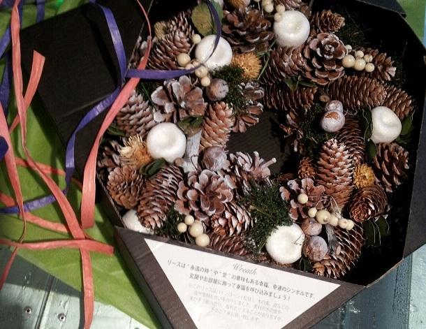 クリスマスパーティーのクイズで1等賞・・景品は・・なんと・・・_d0148223_803980.jpg