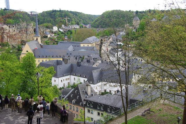 ルクセンブルクの旅 (5) ボックの断崖(要塞)とその眺望_c0011649_2356288.jpg