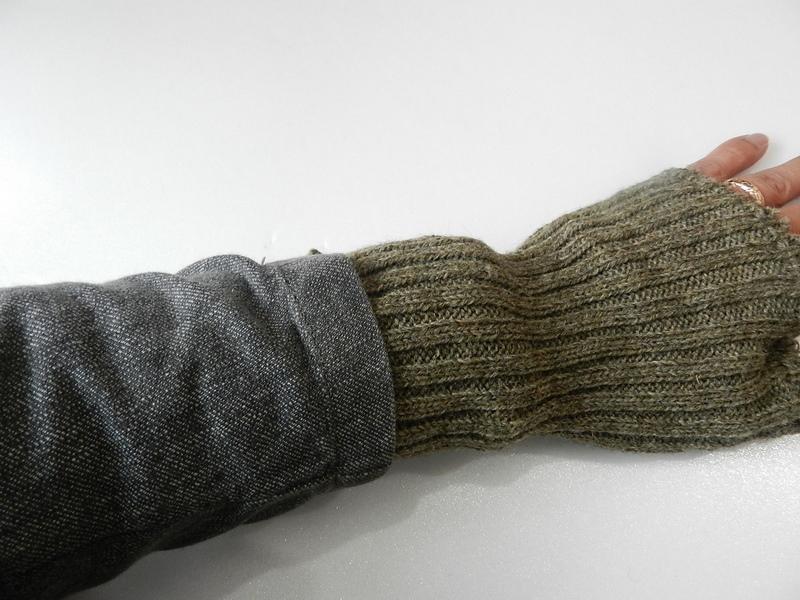 Swedish army wrist warmer dead stock_f0226051_10243749.jpg