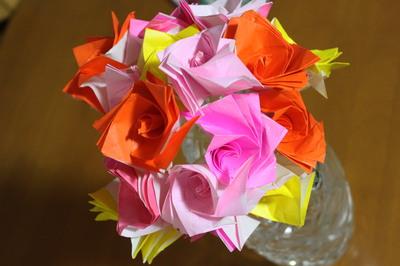 飛行機 折り紙:折り紙 バラ 花束-matome.naver.jp
