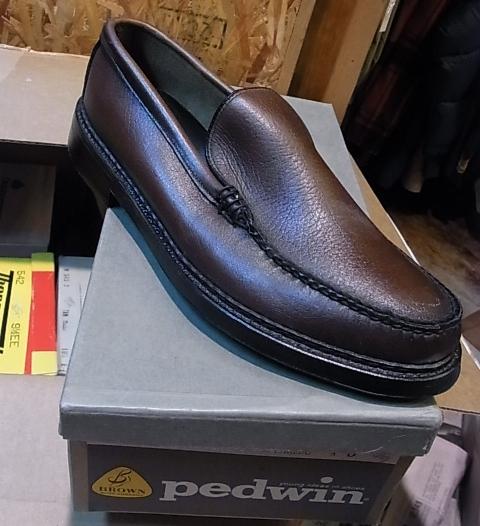 明日12月15日(土)入荷商品!デッドストック Variety of VAMP shoes Ⅱ_c0144020_1716747.jpg